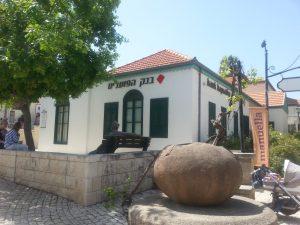 בית לופו ניימן והיום בנק הפועלים בזכרון יעקב