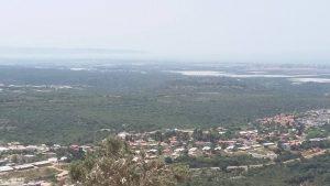 תצפית ממערת קשת על הגליל המערבי.
