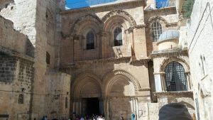 הכניסה הצלבנית של יכנסית הקבר בירושלים