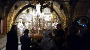 תחנה מספר 12 בכנסית הקבר-מותו של ישו