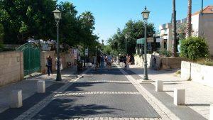 רחוב המייסדים והמדרחוב של זכרון יעקב
