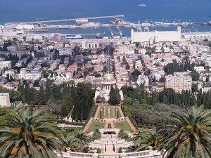 תצפית הגנים הבהאיים והמושבה הגרמנית בחיפה