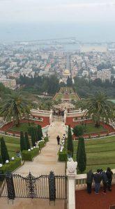 הגנים הבהאים של חיפה ותצפית