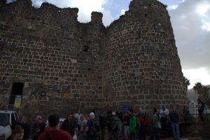 חומת דהר אל עומר בטבריה.