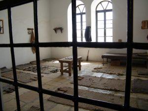 כלא אסירי המחתרות במגרש הרוסים בירושלים.