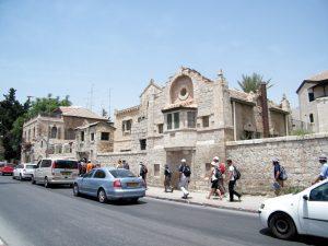 בית תבור ברחוב הנביאים