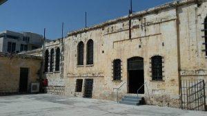 בית הסוהר הבריטי בירושלים ולשעבר אכסניית הנשים הרוסיות.