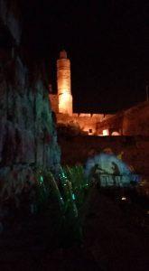 מגדל דוד בליל