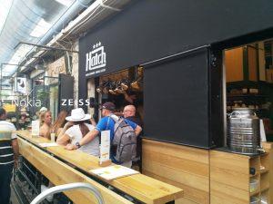 במבשלת הבירה בשוק מחנה יהודה בירושלים