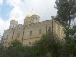 הכנסיה הרוסית בעין כרם-מנזר גורני