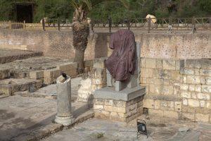 פסל אוגוסטוס קיסר בקיסריה