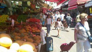 רחוב הכרמל בשוק הכרמל