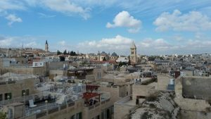 גגות העיר העתיקה בירושלים