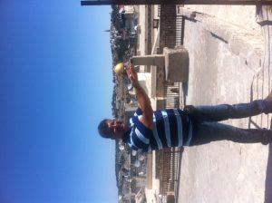 מעל גגות העיר העתיקה בירושלים