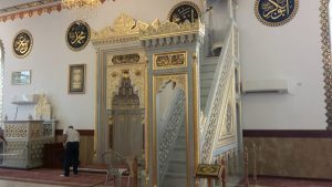 המסגד הצ'צ'ני באבו גוש