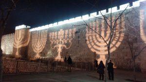 חנוכה וחנוכיות בירושלים.