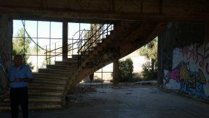 המפקדה הסורית הענקית בקונייטרה-כאן ביקר אלי כהן מספר פעמים.