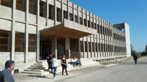 המפקדה הסורית בקונייטרה שנבנתה על ידי הסובייטים.