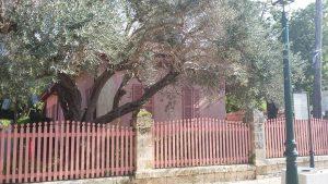 בית משפחת אהרונסון ברחוב המייסדים בזכרון יעקב.