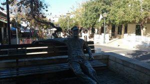 הפועל העברי ליד בנק הפועלים, ביתו של זאב לופו ניימן