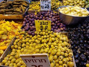 חמוצי ירושלים בשוק מחנה יהודה