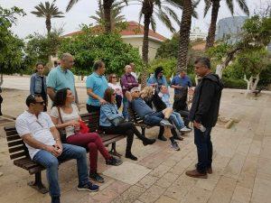 סיור מודרך עם אפי נחמיאס ביפו החדשה בנווה צדק יפו
