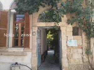 """""""שכונת חצר"""" ברחוב כל ישראל חברים(כיח) בנווה צדק."""