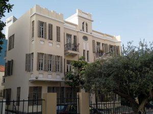אדריכלות ואמנות בתל אביב