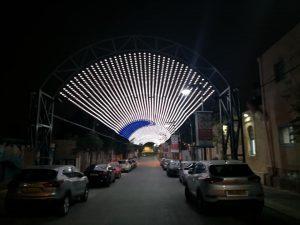 סיורים בבאר שבע בלילה רחוב אנילביץ'