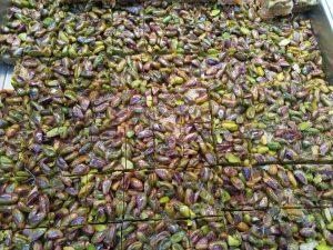 עוגות פיסטוק ובקלאוות בשוק מחנה יהודה הירושלמי. www.toursguides.com